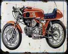 Aermacchi Ala D'Oro 250 350 A4 Metal Sign Motorbike Vintage Aged