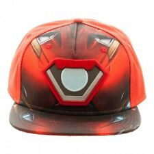 OFFICIAL MARVEL COMICS IRON MAN SUIT BALLISTIC SUBLIMATED SNAPBACK CAP