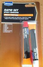 Wickes 2 part rapid set  epoxy adhesive -multi purpose   2x15ml tubes