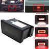 Smoke LED Rear Fog Light Tail Brake Backup Reverse Lamp For Subaru WRX 2011-2021