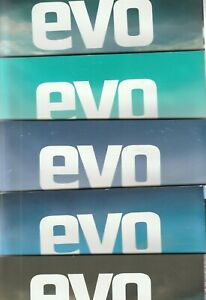 Various Issues of EVO Magazine from #200 to #281