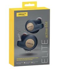 Jabra Elite Active 65t Cuffie Wireless-Rame BLU-Alexa, Siri, Google
