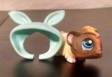 Littlest Pet Shop 1418 Guinea Pig Blue Eyes Accessories Set