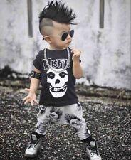 Misfits Trendy S/S T Shirt and Pants Set 100% Fine Cotton 12 -18 months 90cm