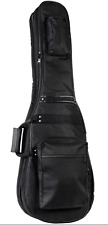 Henry Heller HGB-DB2 double electric bass guitar gig bag in black