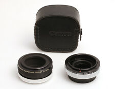 Canon Extension Tube FD15 + Canon Macrophoto Coupler FL 52mm