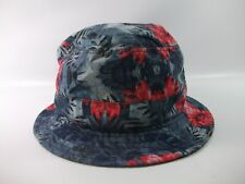 """Chuck Floral Print Bucket Hat 23.5"""" Fitted Cap"""
