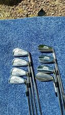 Titleist 735.CM forged golf club 4-PW iron set + 52 gap steel shaft stiff flex