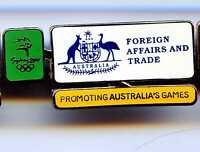 SYDNEY 2000 OLYMPIC GAMES AUSTRALIA - FOREIGN AFFAIRS AND TRADE - SERVICES PIN