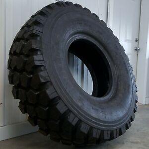 """46.8"""" Michelin XZL 395/85 R20 (Non-Plus) Surplus Military Truck Tires Full-Tread"""