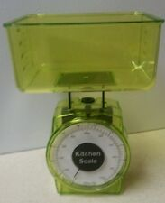 1000G/2.2lb.~Traditional Kitchen Food Diet Scale~Transparent Lime Green ~NEW!