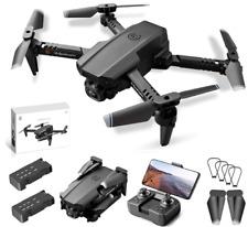 Mini Drone with Foldable 4K Dual Camera, 3D Flips, WiFi FPV, LED Lights LS - XT6