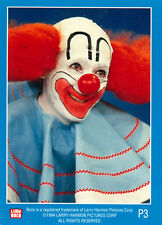 Official Bozo the Clown Master Card Set in Limited Edition Binder