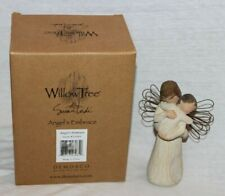"""Willow Tree Susan Lordi """"Angel's Embrace"""" Hold Close Hold Dear Angel Figurine"""