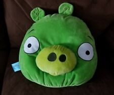 Angry Birds Large Microbead Green Pig Pillow Plush (p3)