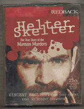 VINCENT BUGLIOSI HELTER SKELTER THE MANSON MURDERS AUDIO BOOK 4 CASSETTE SET