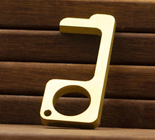 Solid Copper Antimicrobial Door Opener Hook No Touch Touchless Tool Avoid Germs