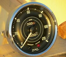 Smiths Speedometer Gauge Contamiglia Jaguar Daimler Flat Glass