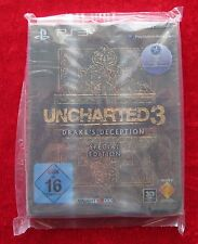 Uncharted 3 Drake´s Deception Special Edition, PS3, PlayStation 3 Spiel, Neu