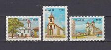 s19067) BRASILE BRAZIL  MNH** Nuovo** 1982 Churches 3v