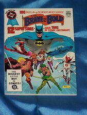 DC Blue Ribbon Digest: BRAVE & BOLD, BATMAN, # 26, July 1982, FC, 100 pgs. VF
