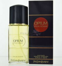 Opium Pour Homme By Yves Saint Laurent Eau De Toilette 3.3 OZ 100 Ml Spray