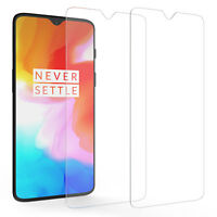2 Pack, OnePlus 6T Screen Protectors Best Tempered Glass 100% Thin Protection