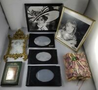 Lot of 8 New Photo Picture Album Holder Frames Various Sizes Memories Photograph
