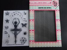 Uchi's Design Ballerina Animation Clear Photopolymer Stamps  UDSTP002