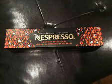 NESPRESSO Vertuo Line PUMPKIN SPICE CAKE Coffee Limited Edition
