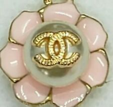 1 Chanel pink and gold flower button, 16 mm,   view all photos
