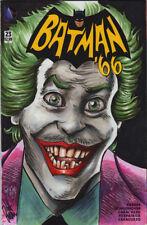 BATMAN '66 #23 BLANK SKETCH COVER Chris McJunkin JEFF PARKER JOKER CESAR ROMERO