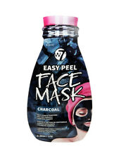 W7 Charcoal Face Mask - Easy Peel Off Cleansing Black Head Face Deep Clean Fun