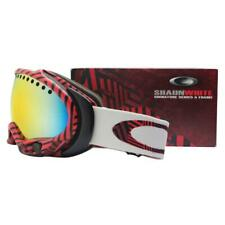 501306de518 Oakley 57-231 Shaun White A Frame Illusion Red w Fire Lens Snow Ski Goggles