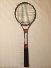Vintage Wilson T3000 Jimmy Connors' Tennis Racquet, Leather Grip 4 5/8, Vgc