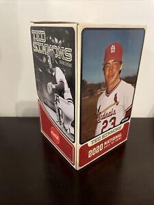 7/31/2021 St. Louis Cardinals Ted Simmons Bobblehead SGA NEW NIB