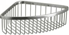 8 in. Shower Caddy/Basket Large Wire Grid, Corrosion-Resistant, Stainless Steel