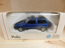 Schabak 1:43 Modellauto Volkswagen VW Polo Steilheck blau OVP