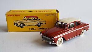 """Original French Dinky Toys No. 544, Simca """"Aronde"""" P.60, - Superb Mint Condition"""
