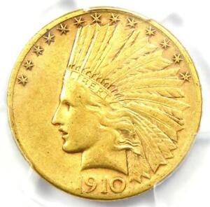 1910-S Indian Gold Eagle $10 - Certified PCGS XF45 (EF45) - Rare Coin!