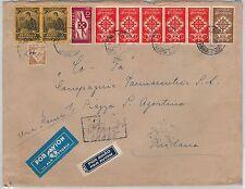 PORTUGAL -  POSTAL HISTORY: AIRMAIL Cover to ITALY 22.06.1940 - ALA LITORIA LATI