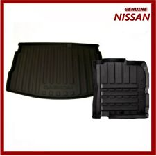 Genuine Nissan Qashqai J11 & JJB 2014 Onwards Boot Liner & Rubber Mats Pack