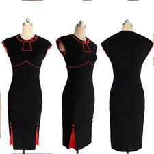 robe rouge et noir pin-up rockabilly taille L