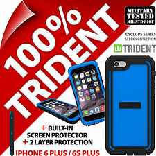 Neuf Trident Cyclops Etui de Protection Bleu Robuste pour Apple Iphone 6 Plus /