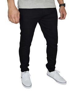 Mens Stretch Skinny Fit Jeans Super Spandex Denim Pants