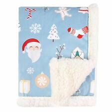 Boritar Christmas Fleece Blanket Children Winter Bedding Sherpa Plush Backing