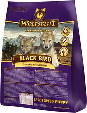 Wolfsblut Black Bird Large Breed Puppy 15 kg Hundefutter mit Truthahn