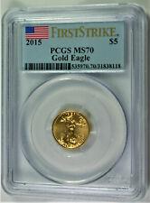 2015 $5 Liberty Gold Half Eagle MS70 PCGS