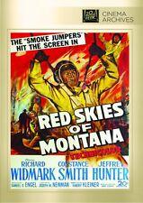 Rojo Skies Of Montana DVD (1952) - RICHARD WIDMARK Constance SMITH Jeffrey