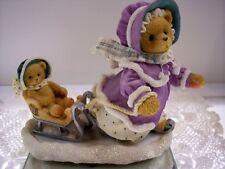 Cherished Teddies Gretchen Winter Fig 203351 Nib * Free Shipping In Usa
